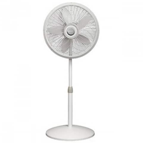 """Lasko 1820 Elegance & Performance Oscillating Adjustable Pedestal Fan, 18"""""""