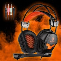 Sades SA921 Gaming Headset Headphone With Mic for PS4 Xbox360 NEWXbox one - ORANGE