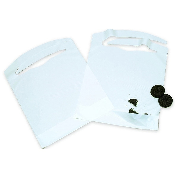 AMMEX BIBC Disposable Poly Bibs (Case of 500)