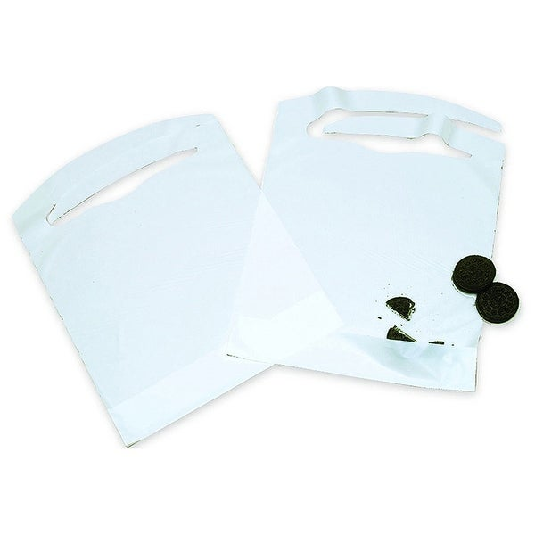 AMMEX BIBC Disposable Poly Bibs (Mastercase of 1500)