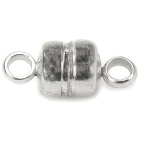 Silver - Magnetic Clasps 5mmX11mm 5/Pkg