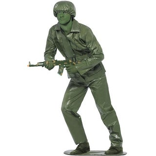 Smiffy Toy Soldier Adult Costume - Solid
