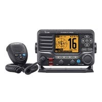 Icom M506 VHF Fixed Mount w/Front Mic, AIS & NMEA 0183/2000 - Black