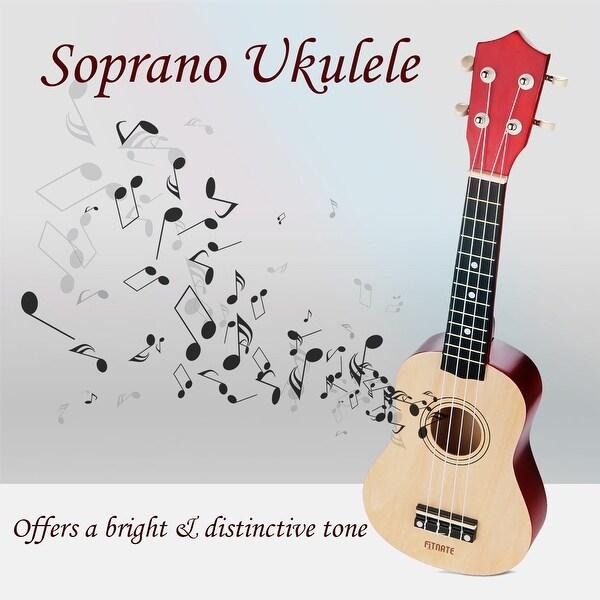 Shop Fitnate 21 Economic Soprano Ukulele Starter Kit W Extra Pick