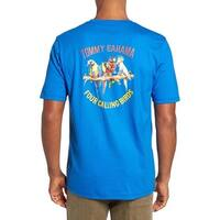 Tommy Bahama Four Calling Birds XX-Small Cobalt Craze T-Shirt