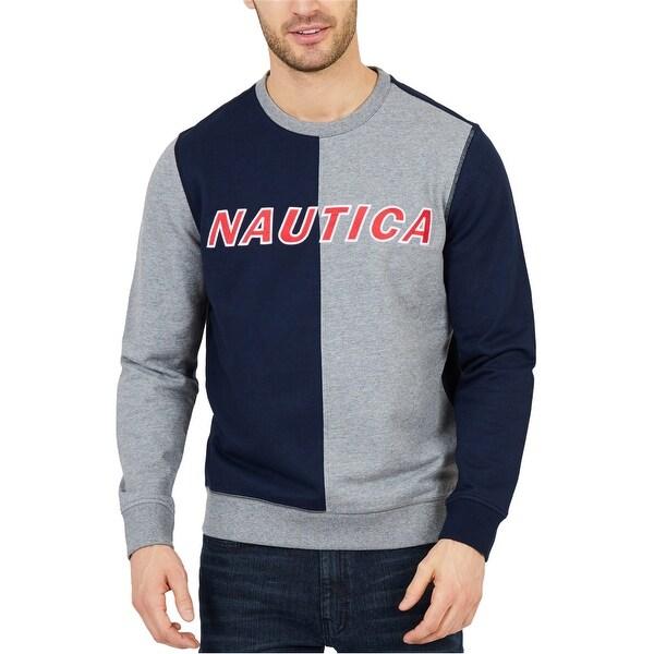 Nautica Mens Water Blocked Sweatshirt, Blue, XX-Large. Opens flyout.