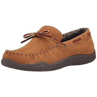 Acorn Mens Wearabout Camp Suede Firmcore Driving Moccasins
