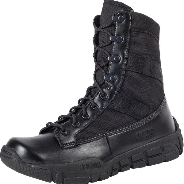"Rocky Tactical Boots Mens 8"" C4T Military Duty Lightweight Black"