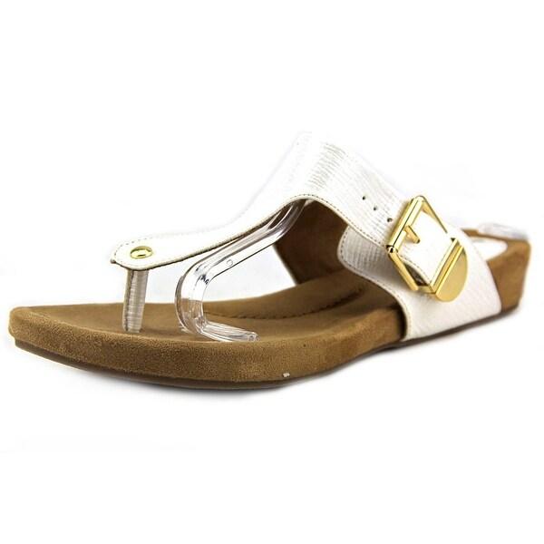 Giani Bernini Ryanne Women Open Toe Synthetic White Sandals