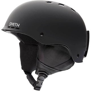 Smith Holt Snow Helmet (Matte Black/Small) - Black