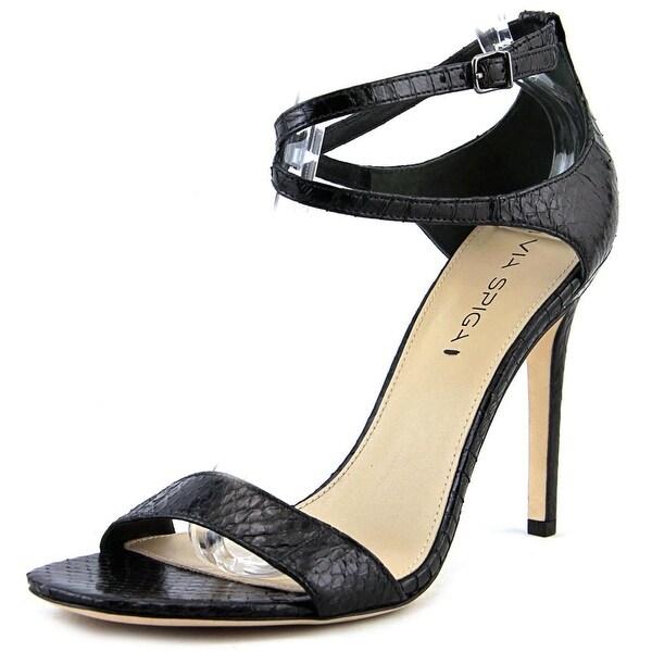 Via Spiga Tiara Women Black Sandals