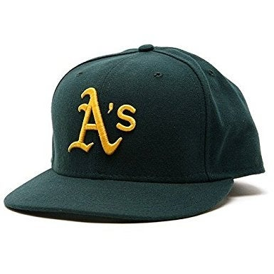 Shop Oakland Athletics Road 2007 New Era Official On-Field Fitted Cap - 7 -  Free Shipping On Orders Over  45 - Overstock - 17914398 d63dda7565d2
