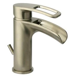 Jacuzzi MZ788 Bretton 1.2 GPM Single Hole Bathroom Faucet with Optional Deck Pla