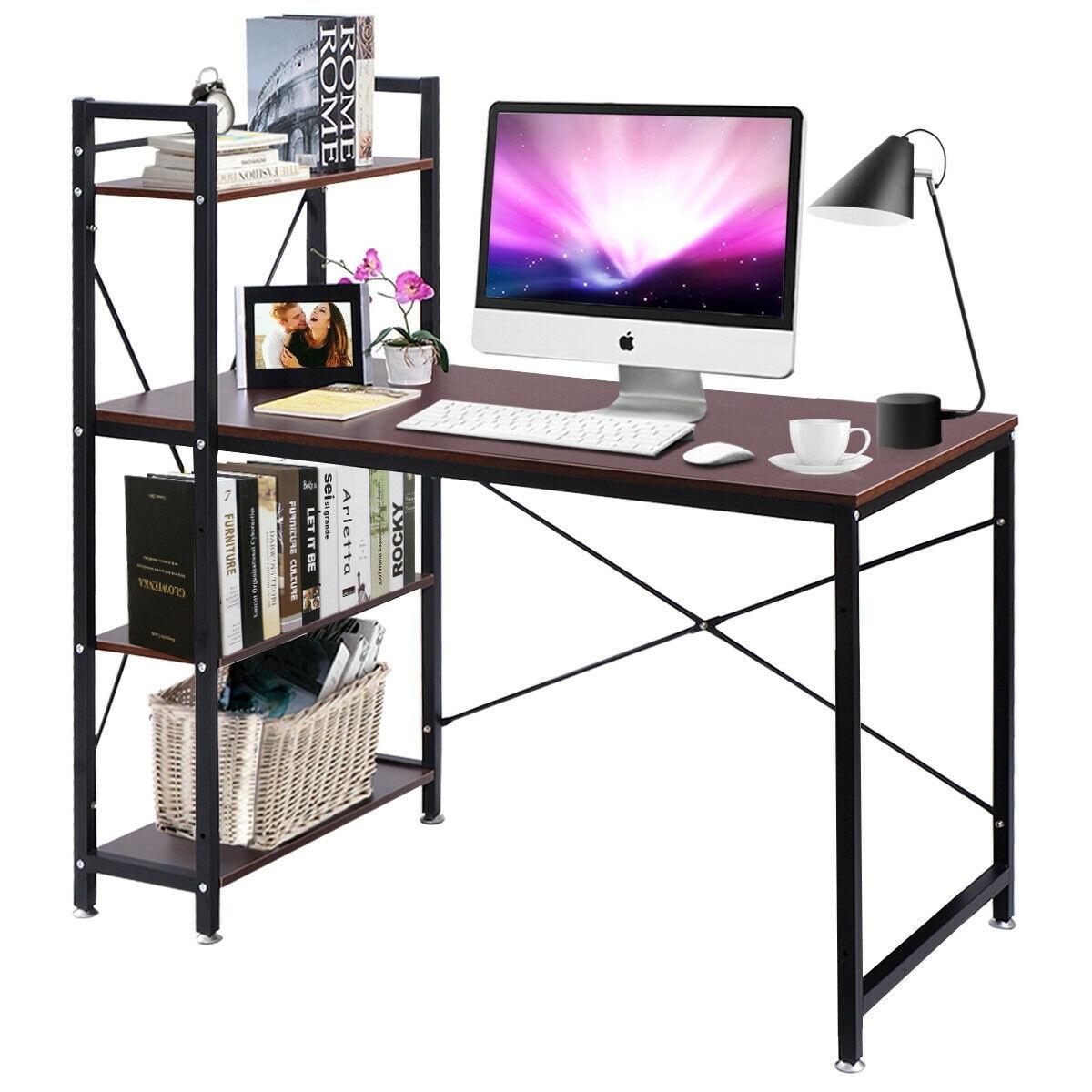 Modern Computer Desk Study Table PC Laptop Workstation Home Office Furniture