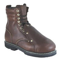 Golden Retriever Footwear Men's 08942 Brown Full Grain Leather
