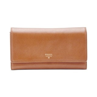 Fossil Womens Sydney Clutch Wallet Leather Flap - o/s