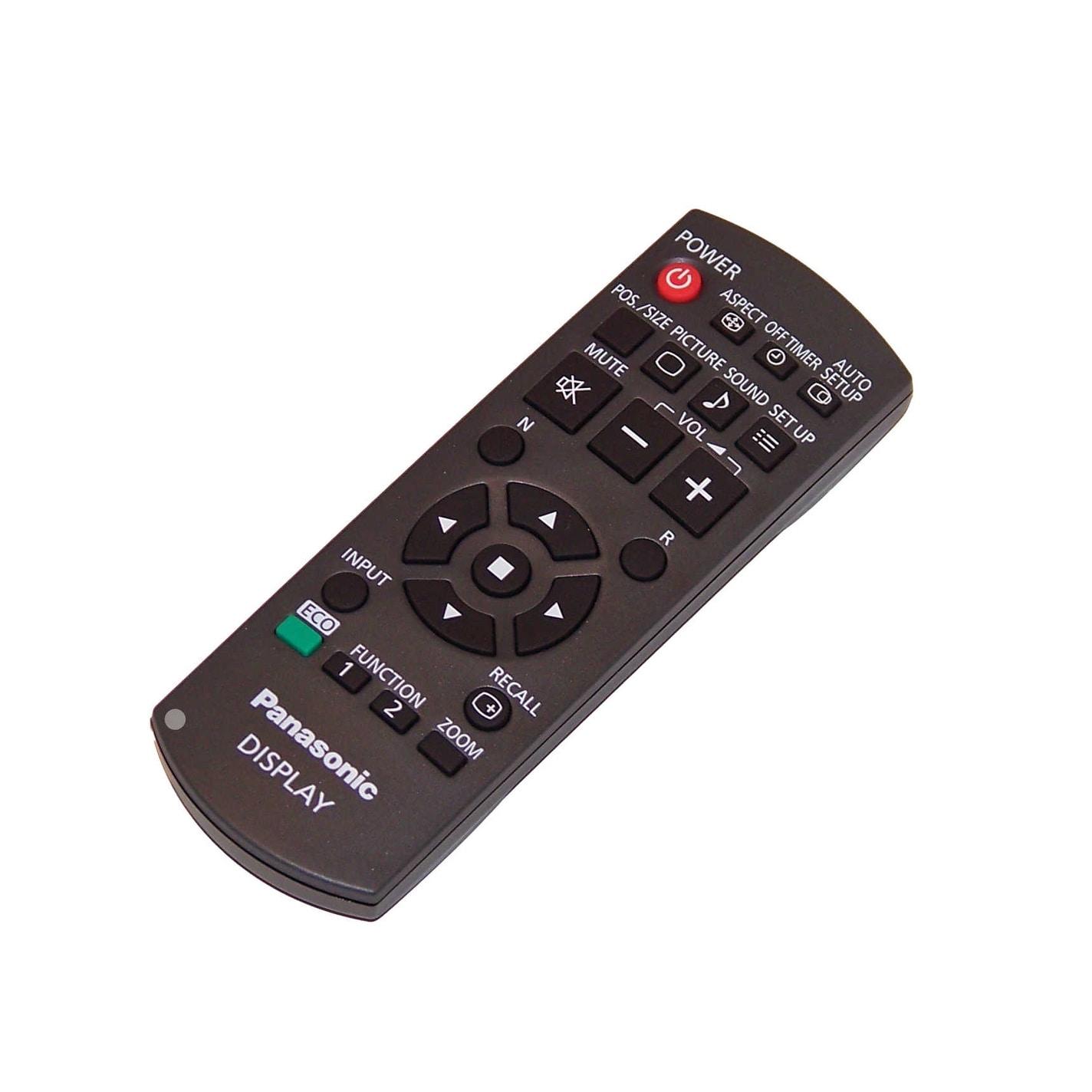 OEM Panasonic Remote Control Originally Shipped with: TH-65PB2U TH-70LF50U TH-80BF1U TH-80LF50 TH-70LF50 TH-80BF1