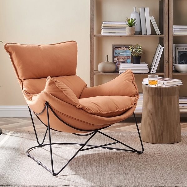 Art Leon Modern Accent Chaise Chair. Opens flyout.