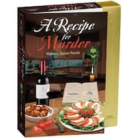 """Jigsaw Shaped Puzzle 1000 Pieces 23""""X29""""-Recipe For Murder"""