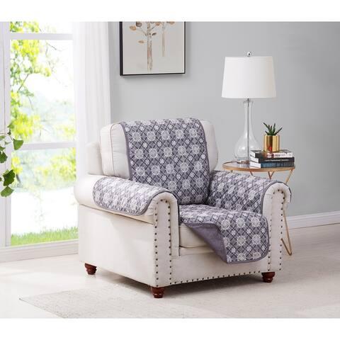 Mandala Reversible Furniture Protector Chair