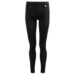 Helly Hansen Women's Warm Pants Lifa Base Layer - Merino blend - Black
