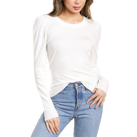 Milly Draped Sleeve Pullover