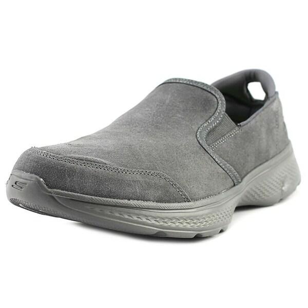 Skechers GoWalk 4 - Deliver Men Round Toe Synthetic Walking Shoe