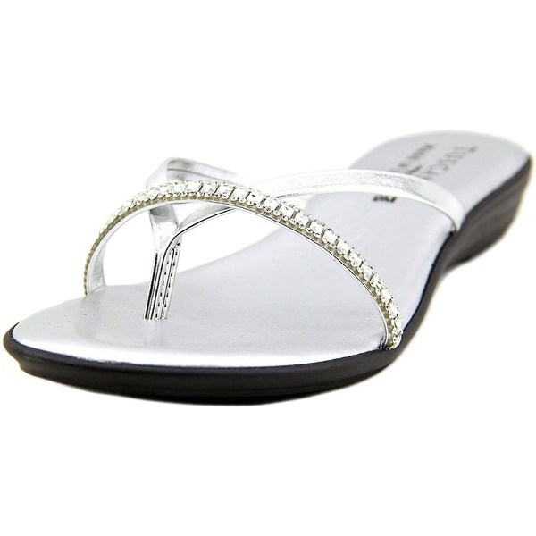 Easy Street Auletta Open Toe Synthetic Thong Sandal