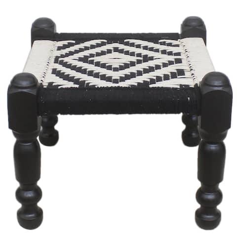 "Tribal Turkish Abstract Ellison Multipurpose Bench - 22""x22""x18"""