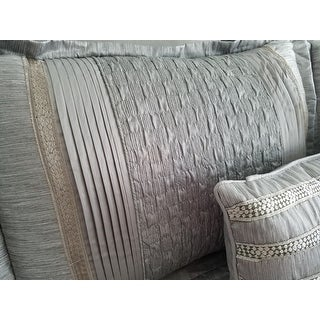 Nanshing Ontario Silver 8-piece Comforter Set