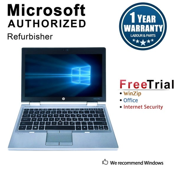 "Refurbished HP EliteBook 2570P 12.5"" Intel Core i7-3520M 2.90GHz 8GB DDR3 1 TB DVD Windows 10 Pro 64 Bits 1 Year Warranty"