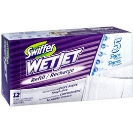 Swiffer WetJet Cleaner Pads Refills 12 Each