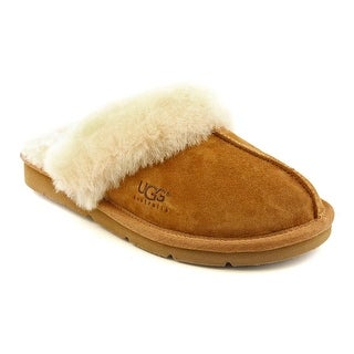 Ugg Australia Cozy II Women Round Toe Suede Brown Slipper