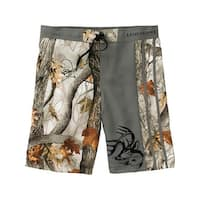Legendary Whitetails Men's God's Country Camo Lakeside Swim Shorts - god's country camo