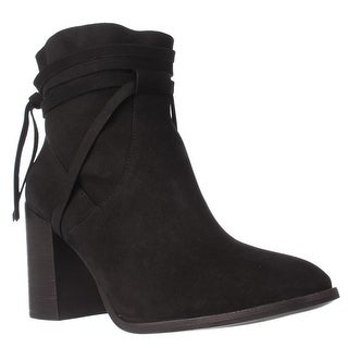 Steve Madden Percy Block Heel Ankle Boots, Black