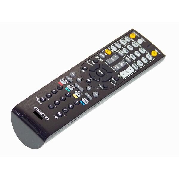 OEM Onkyo Remote Control Originally Shipped With: TX-NR525, TXNR525
