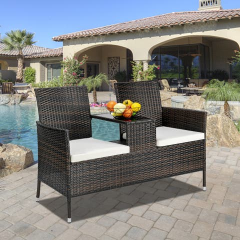 """51""""L Outdoor Fashion Lover Chair Brown Gradient"""