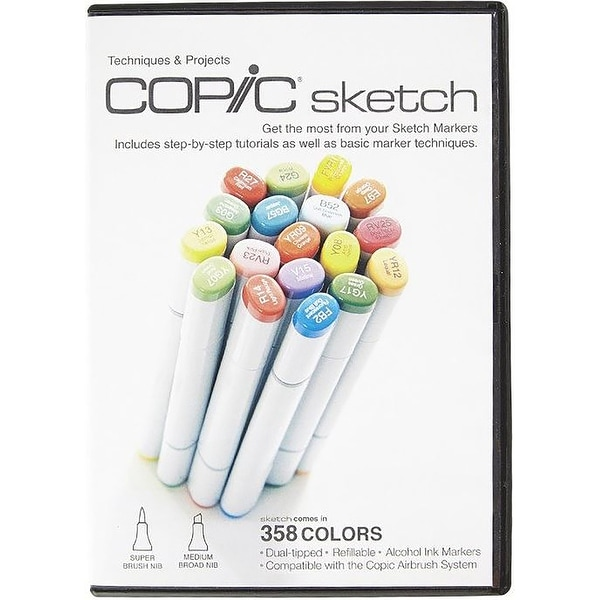 Copic Sketch Markers DVD-