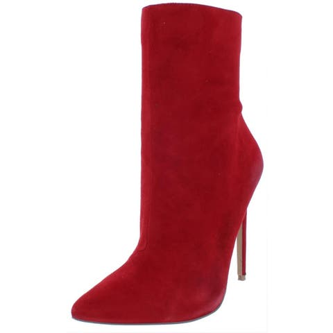 Steve Madden Womens Wagner Ankle Boots Solid Stiletto