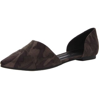 Chinese Laundry Womens EASY DOES IT Suede Pointed Toe Ballet Flats