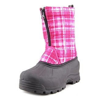 Northside Frosty Youth Round Toe Canvas Pink Snow Boot