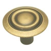 Hickory Hardware P120 Cavalier 1-1/8 Inch Diameter Mushroom Cabinet Knob