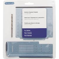 Amerock TMPMULTI Cabinet Door and Drawer Template, Plastic