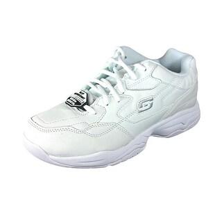Skechers Felton-Albie Round Toe Synthetic Work Shoe