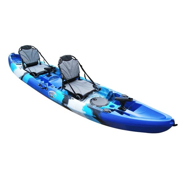 Shop Bkc Uh Tk219 Us 12 Foot 2 Inch Tandem Sit On Top Kayak