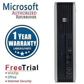 Refurbished HP Compaq DC7900 Ultra Small Form Factor Core 2 Duo E8400 3.0G 4G DDR2 80G WIN 7 PRO 64 1 Year Warranty