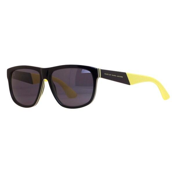 Marc by Marc Jacobs MMJ 417/S 5WV/Y1 Black/Yellow Sunglasses - 57mm-15mm-140mm