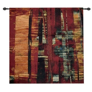 """Nightscape I Wall Hanging Tapestry 35"""" x 35"""""""
