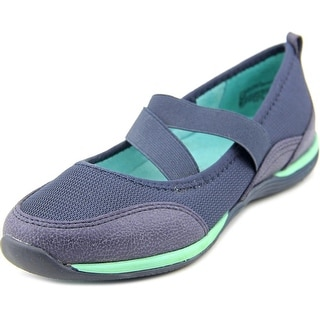 White Mountain Good Mood Women Round Toe Synthetic Blue Mary Janes