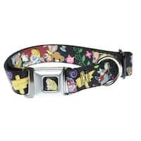 "Buckle Down Dog Collar Alices Encounters in Wonderland - 11-17"""